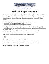 2010 audi a5 cabriolet owners manual