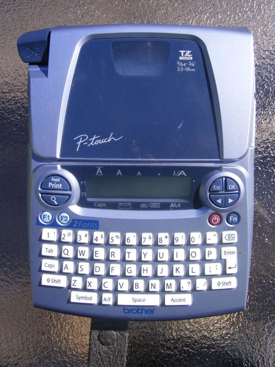 brother p touch 1880 manual
