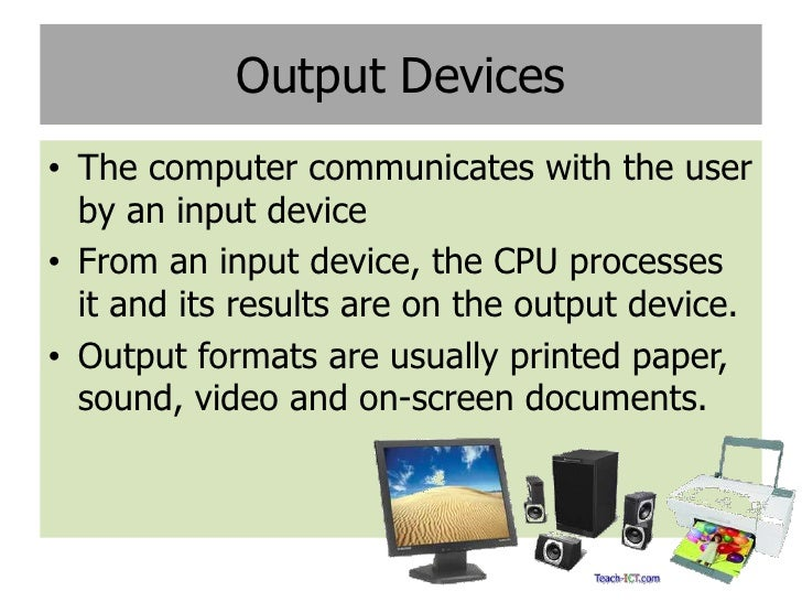 manual and automatic input devices
