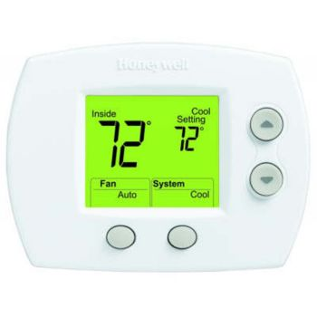 honeywell focuspro 5000 non programmable thermostat manual