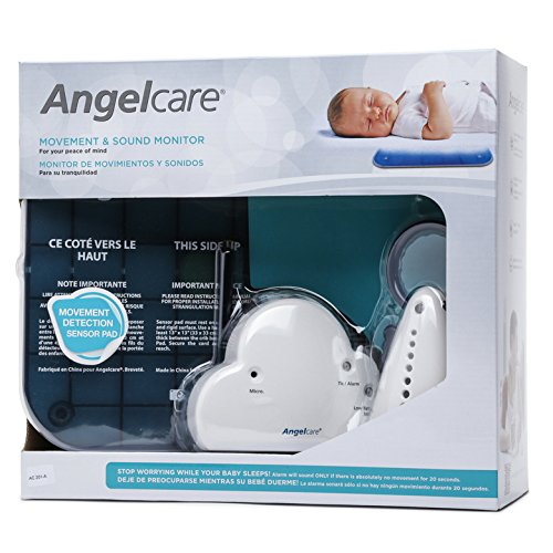 angelcare movement sensor with sound monitor manual
