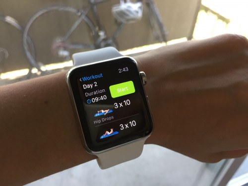 how to manually add workout to apple watch