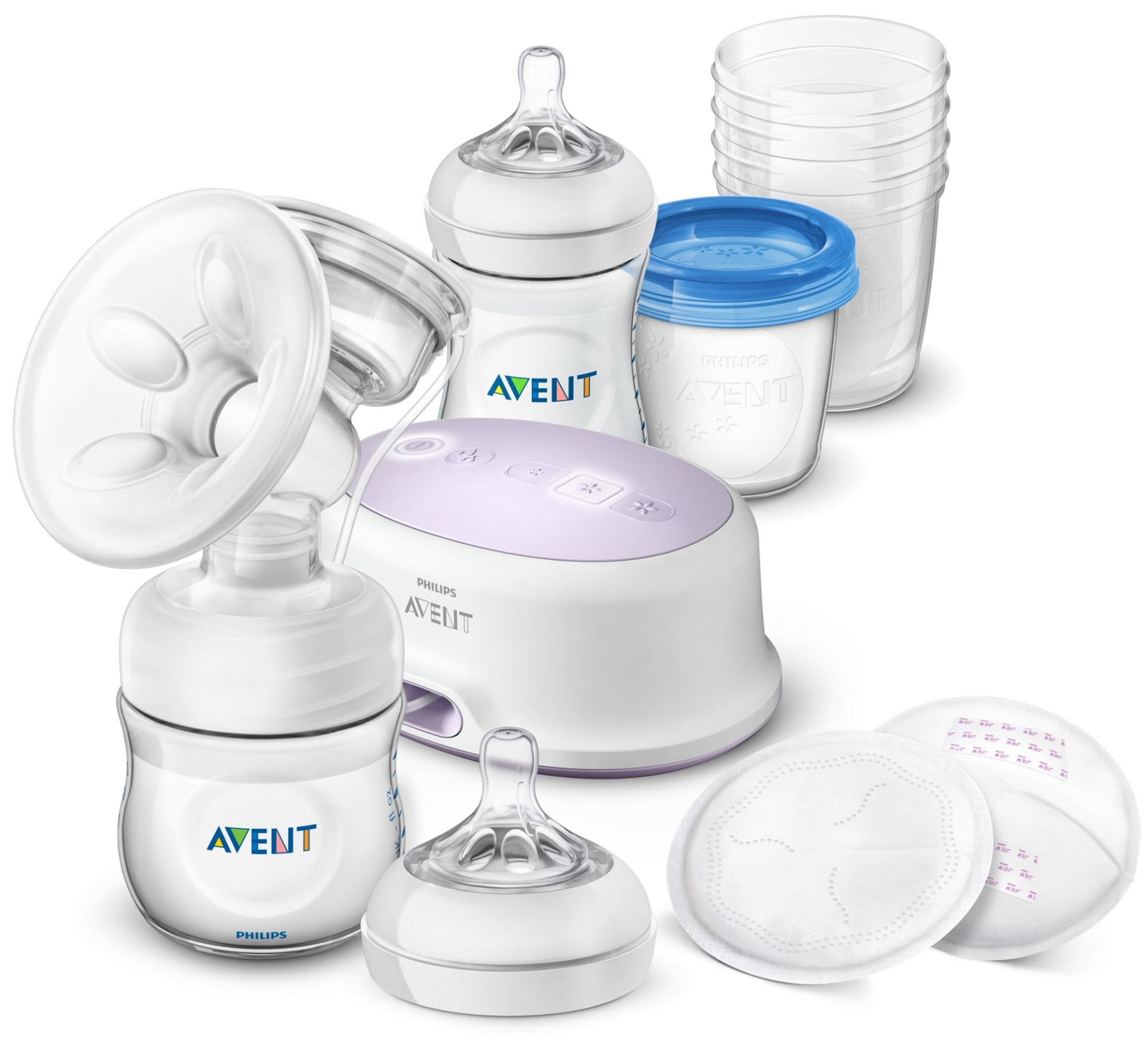philips avent electric breast pump manual